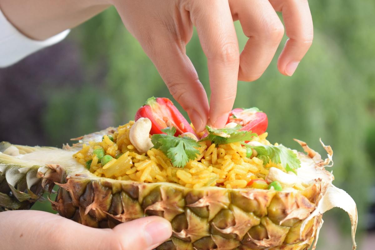 Riz végétarien à la Thaïlandaise